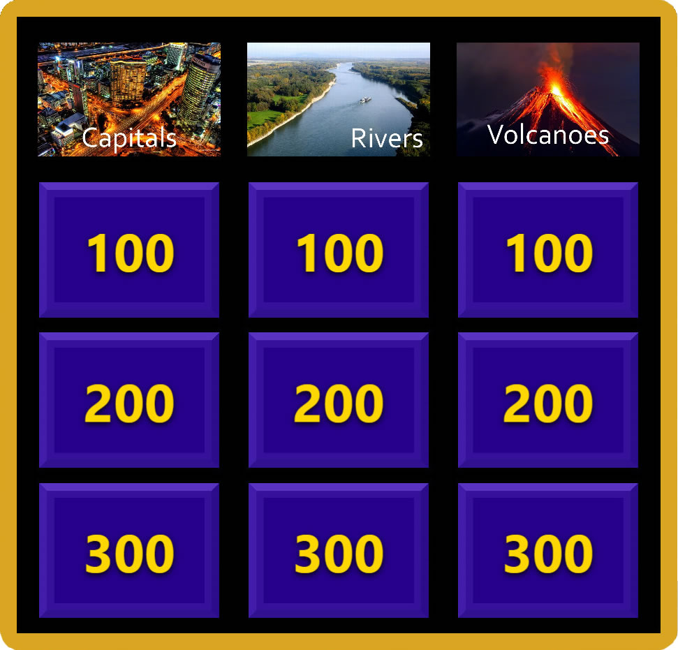 Examples Of Jeopardy Categories: EZ-VOTE Connect Software Upgrade
