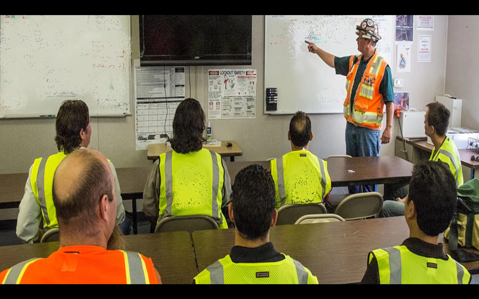Safety Training Video with Audience Response