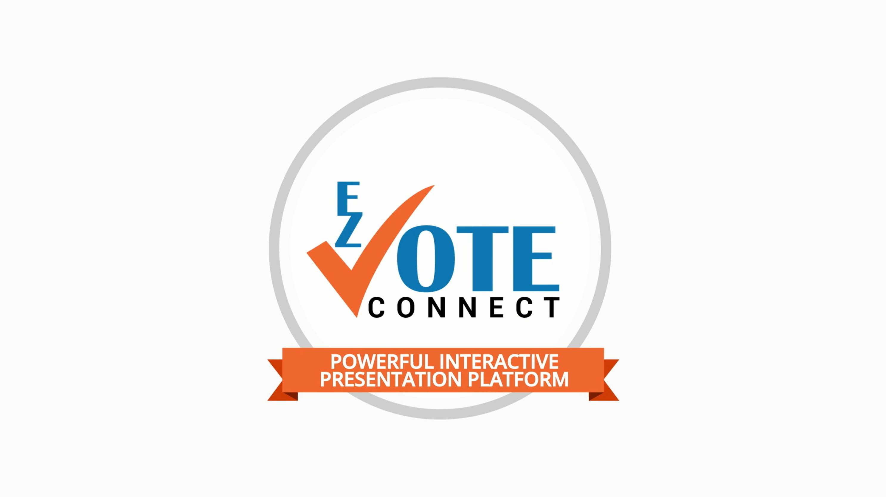 ez vote connect audience response software suite