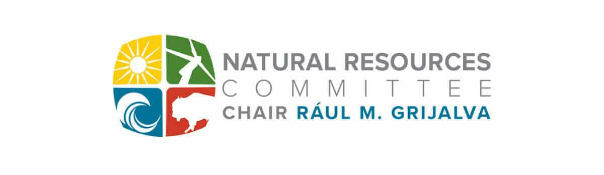 United States House of Representatives Committee on Natural Resources Banner