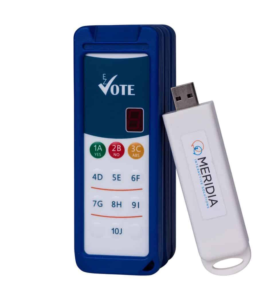 EZ-VOTE HD audience response system