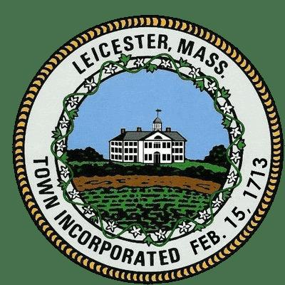 Leicester Massachusetts Town Seal