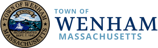 Wenham Town Logo and Title