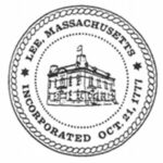 Town of Lee, MA Logo Seal Black & White