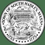 Town of South Hadley, MA Seal Logo Black & White