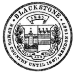 Town of Blackstone Seal Logo
